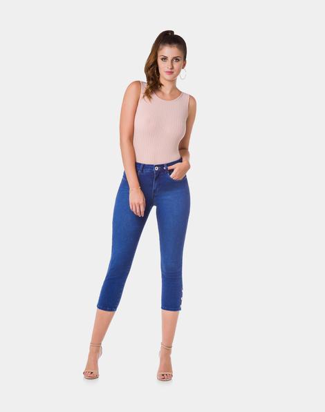 898dc6d087 Calça Jeans Jeans Médio