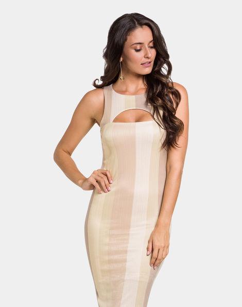 539fbb3c2a Vestido Malha Branco Off White