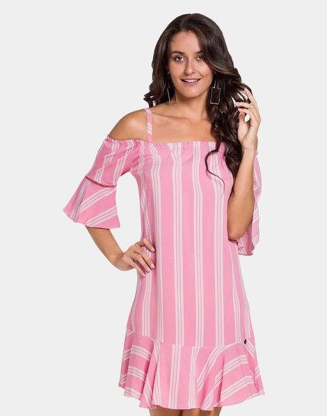 49d247da6e Vestido Tecido Rosa Ipe